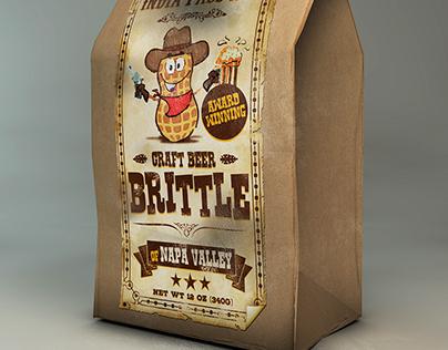 Craft Beer Brittle Label Design