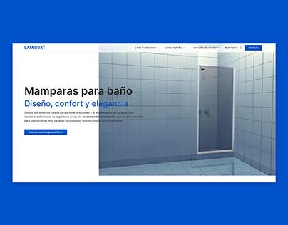 LAMIBOX | Website, UI/UX