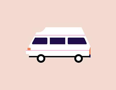 Like a rollin'home - Van website