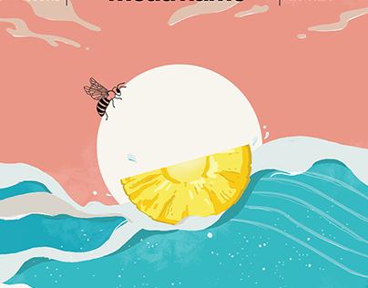 Moonshine Label Design