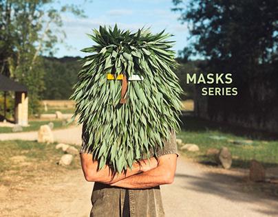 Masks series - art summer camp