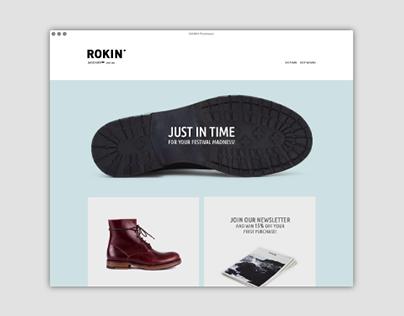 ROKIN Footwear   Website