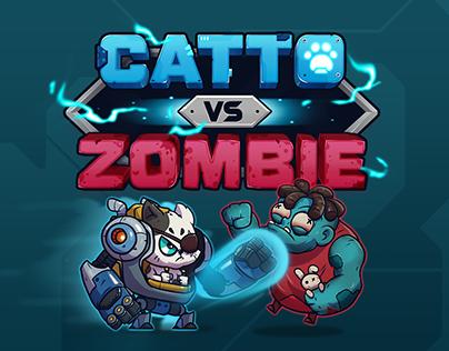 Catto vs Zombie