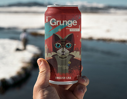 Grunge Brewing Co. Special IPA can design