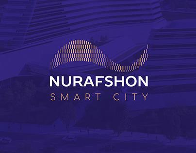 Nurafshon city   Logo and Identity design