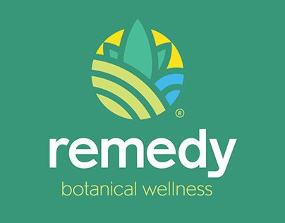 Remedy Botanical Wellness | Logo, Identity Program