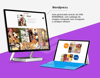 Frontend + Wordpress + Webdesign + HTMLCSS + JavaScript