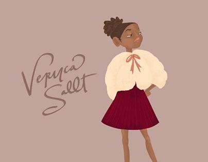 Veruca Sallt / Character Design