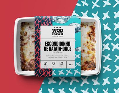 WOD FOOD - Packaging design