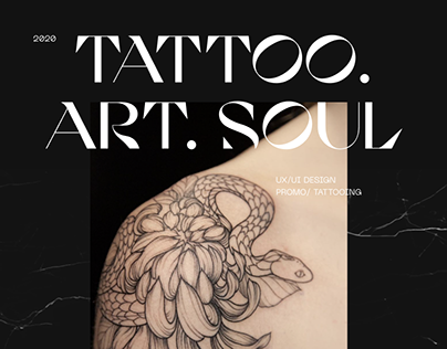 Tattoo Studio Website & Identity