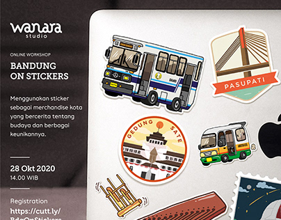 Bandung on Stickers (compilations)