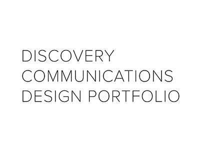 Discovery Communications Design Portfolio