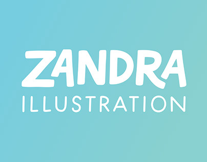 Zandra Illustration Rebrand