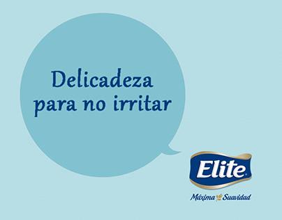 Elite - Delicadeza para no irritar - Prensa