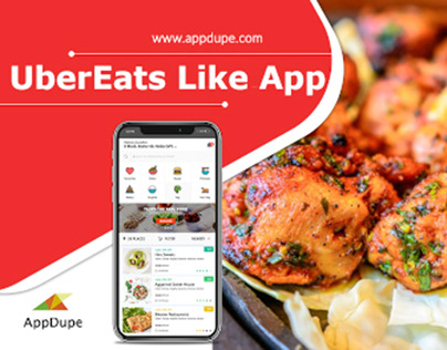 Grow your business with UberEats like App