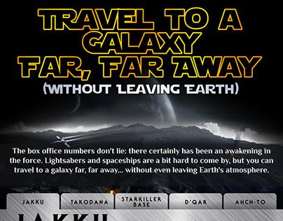 Star Wars - Force Awakens Infographic