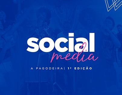 Social Media | Evento: A Pagoadeira 1ª Edição