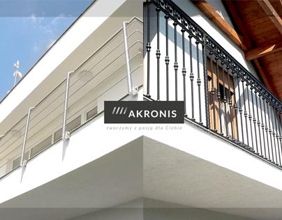 AKRONIS - logo, branding, webdesign