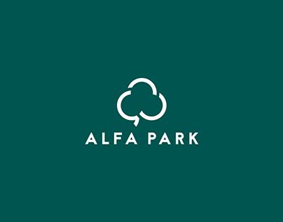 Alfa Park - Rebranding