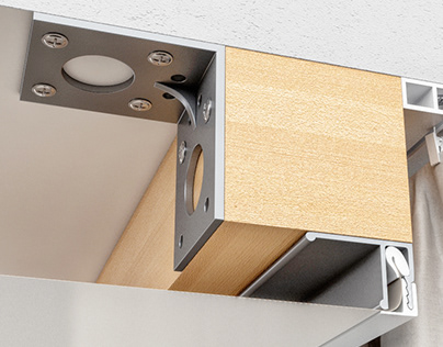 Suspended ceiling in detail