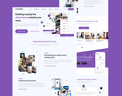 WooCommerce Landing Page Redesign