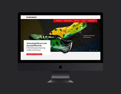 OECHSLER Website Concept