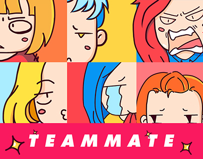 [STICKERS] TEAMMATE '17
