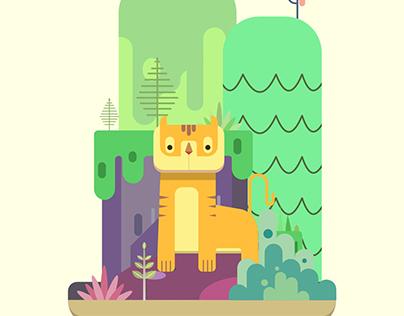 Jungle Created using tutorial at www.frankentoon.com