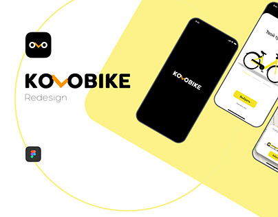 Kolobike Scooter sharing app. Redesign