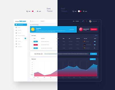 Dashboard CRM Design