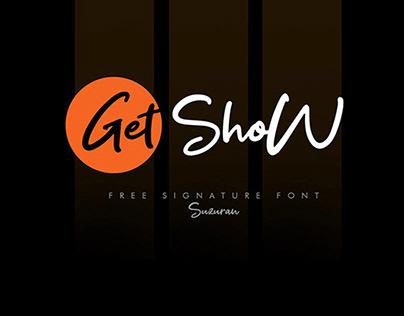 Get Show Script – Free Signature Font