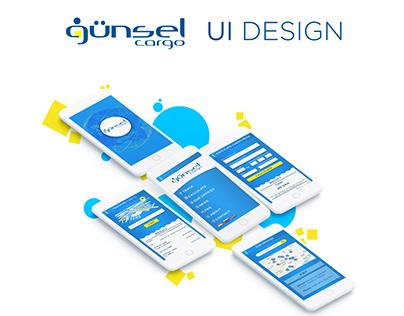 Günsel Cargo | UI Design