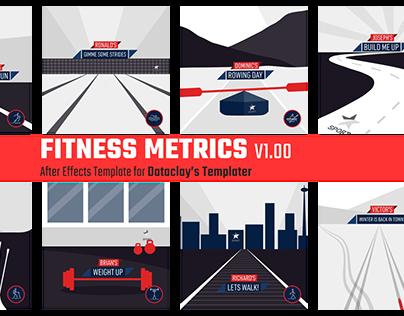 Fitness Metrics - Dataclay Template