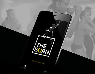 THE BURN - UI APP DESIGN