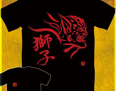 【Dota2-Tシャツ Lion】
