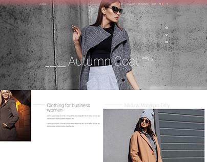 Shop - Autumn Coat