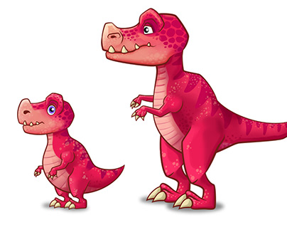 Dinosaurs character design