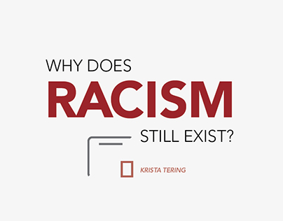 RACISM? Part 1: Reasons (Graphic Design)