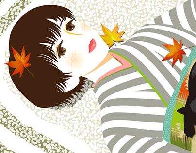 Female Illustration -Japanesque