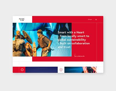 Website for Nordic Edge