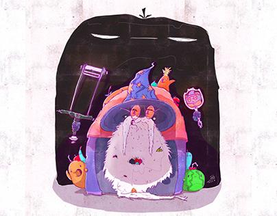 Wizlock - The fruit mage