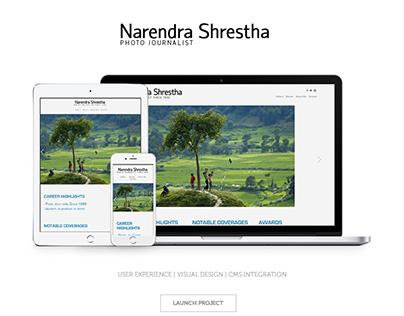 Narendra Shrestha - Photographer Portfolio Website