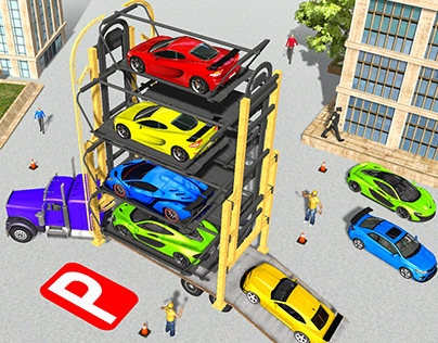 Trolly Car Parking Game