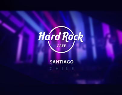 Hard Rock Café Santiago [ RRSS ]