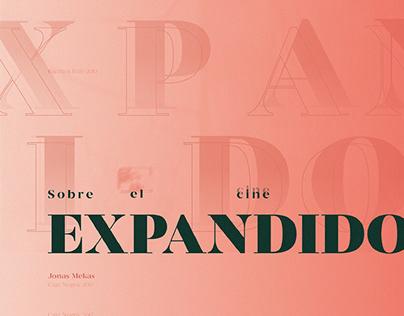 Sobre el Cine Expandido - Proyecto Editorial