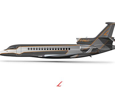 Dassault Falcon 8X VIP liveries