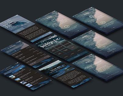 UX/UI Design: Wavescape App