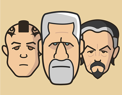 Characters Series Vol 01 - Sons of Anarchy