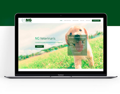 Web Page NG Veterinaris