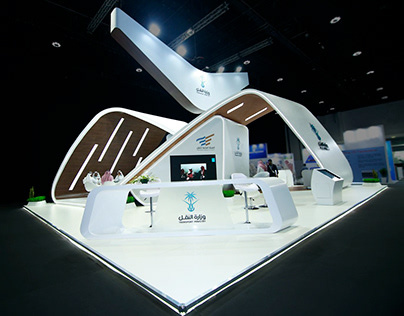 Saudi Arabia Transport Ministry exhibition stands